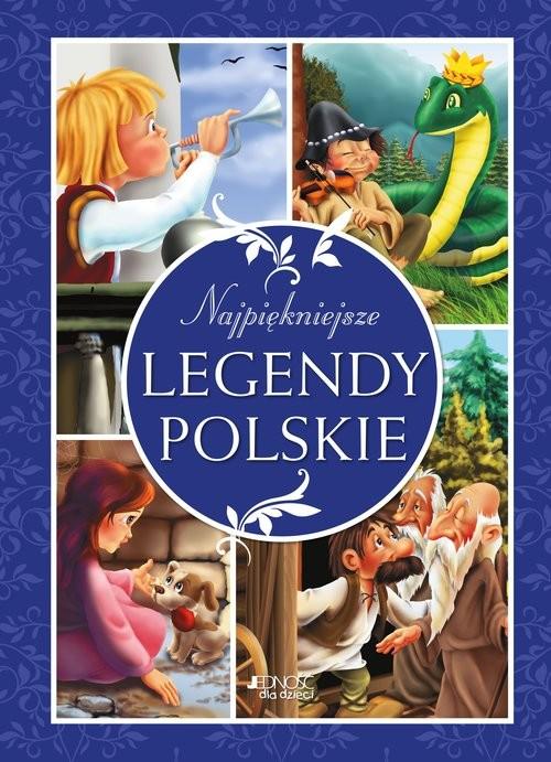 okładka Najpiękniejsze legendy polskie, Książka   Skwark Dorota