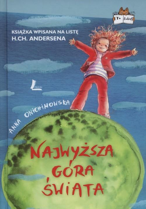 okładka Najwyższa góra świata, Książka   Anna Onichimowska