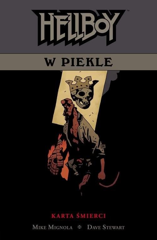 okładka Hellboy w piekle Tom 2 Karta śmierci, Książka | Mike Mignola