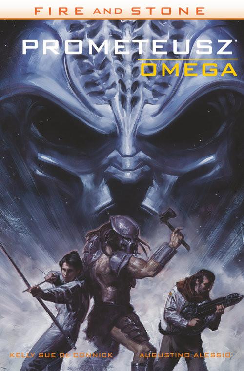 okładka Fire and Stone Tom 5 Prometeusz Omega, Książka |