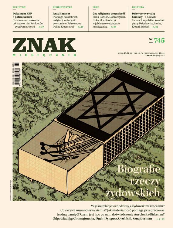 okładka ZNAK 745 6/2017, Książka |