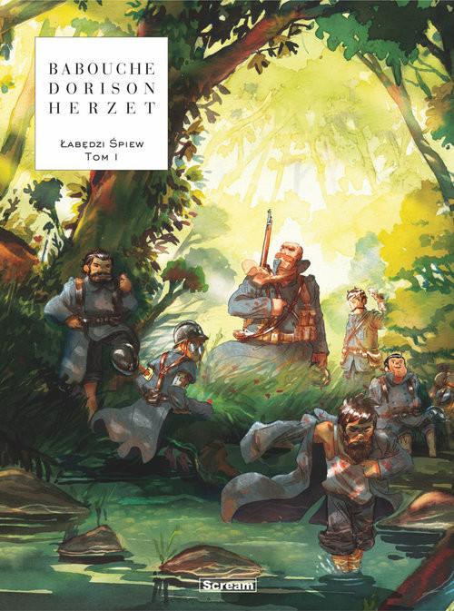 okładka Łabędzi śpiew Tom 1, Książka | Emmanuel Herzet, Xavier Dorison