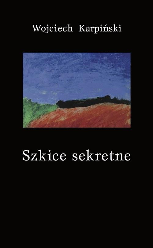 okładka Szkice sekretne, Książka | Wojciech Karpiński