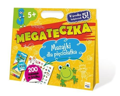 okładka Mega Teczka - Mazajki Pięciolatka, Książka   Lewandowska Barbara