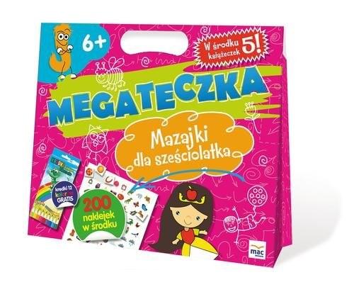 okładka Mega Teczka - Mazajki Sześciolatka, Książka   Lewandowska Barbara