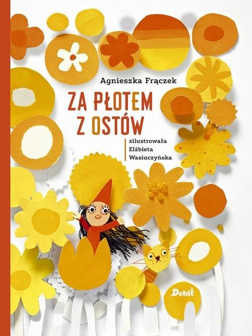 okładka Za płotem z ostów, Książka | Frączek Agnieszka