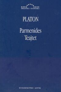 okładka Parmenides Teajtet, Książka | Platon