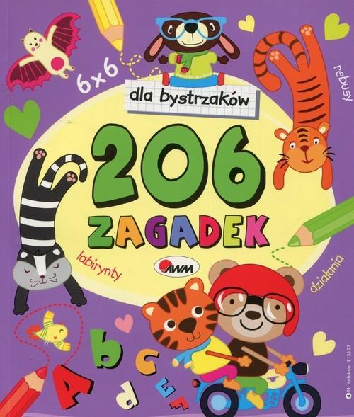 okładka dla bystrzaków 206 zagadek, Książka  