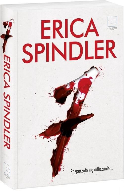 okładka Siódemka, Książka | Spindler Erica