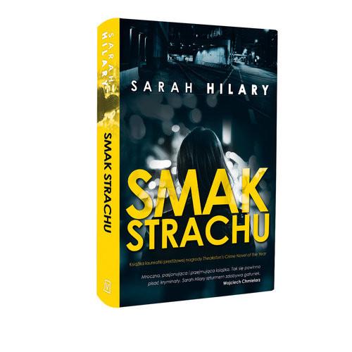 okładka Smak strachu, Książka   Hilary Sarah