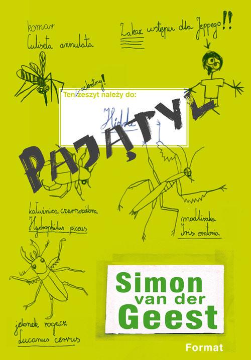 okładka Pajątyl, Książka | Geest Simon
