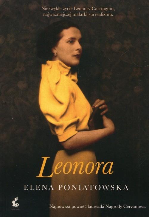 okładka Leonora, Książka | Elena Poniatowska