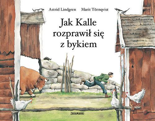 okładka Jak Kalle rozprawił się z bykiem, Książka | Lindgren Astrid