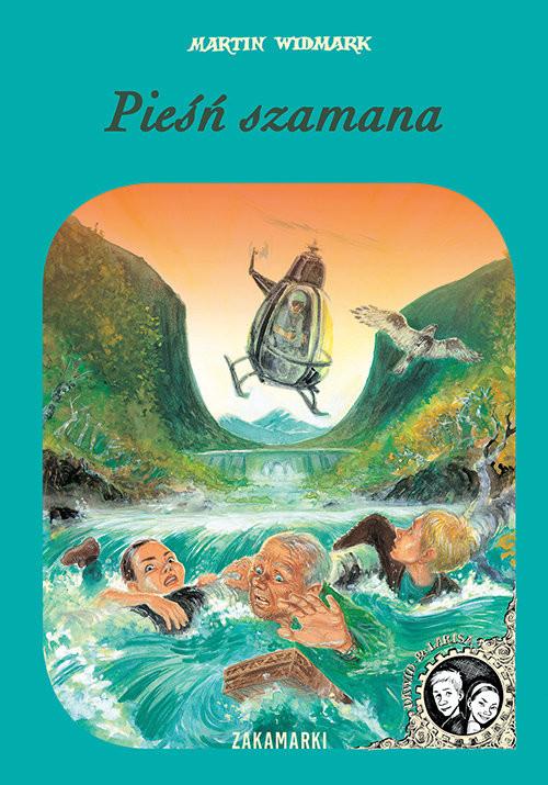 okładka Pieśń szamana, Książka | Martin Widmark