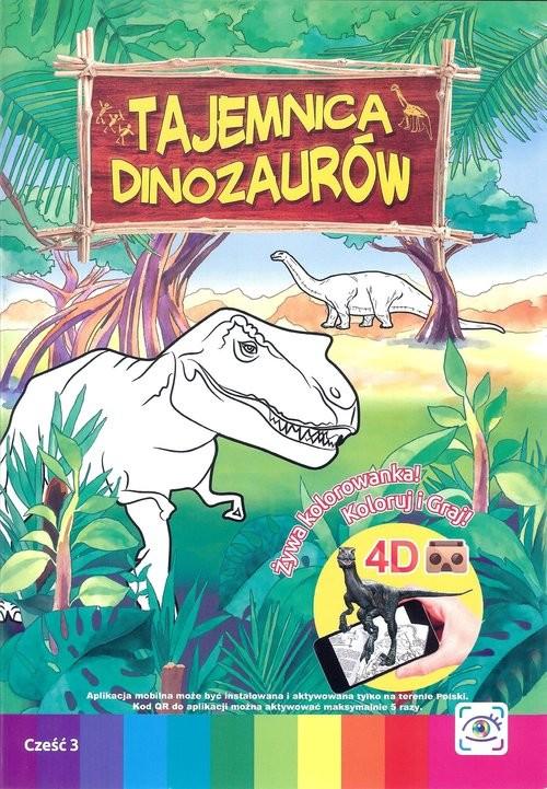 okładka Tajemnica dinozaurów, Książka | Praca Zbiorowa