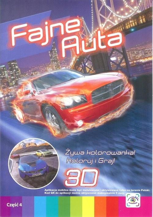 okładka Fajne auta, Książka | Praca Zbiorowa