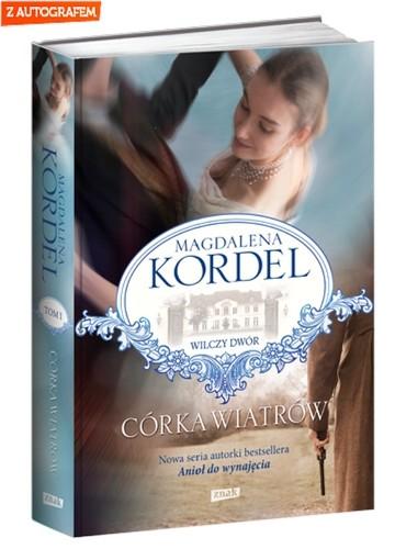 okładka Córka wiatrów, Książka | Kordel Magdalena