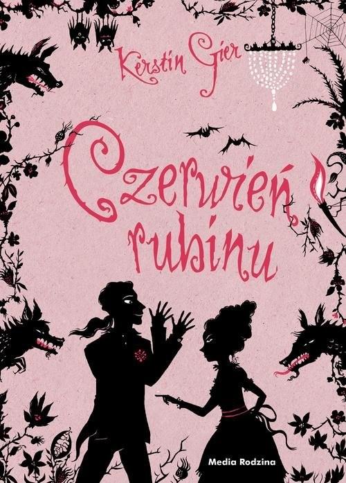 okładka Czerwień rubinu Trylogia czasu, Książka | Gier Kerstin