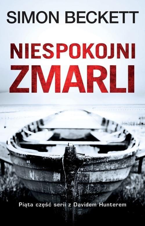 okładka Niespokojni zmarli, Książka | Beckett Simon