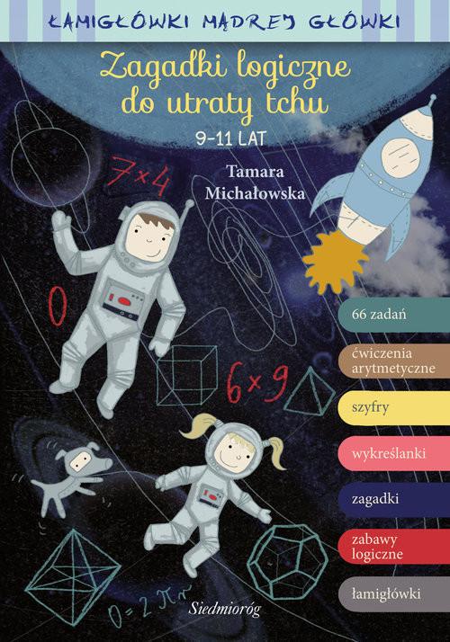okładka Zagadki logiczne do utraty tchu, Książka | Tamara Michałowska
