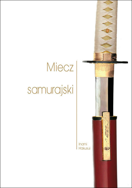 okładka Miecz samurajski, Książka | Hakusui Inami