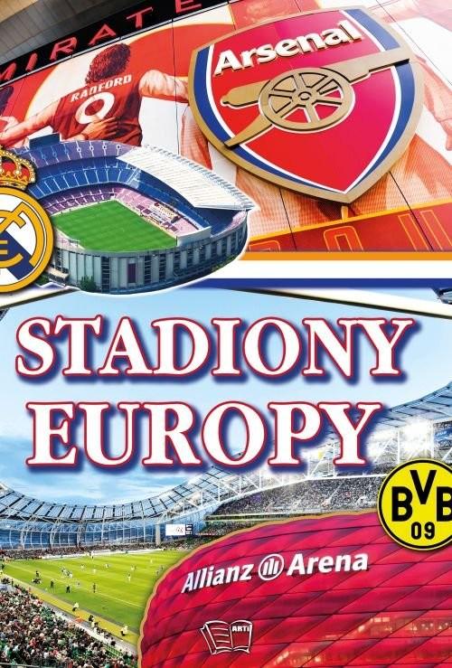 okładka Stadiony Europy, Książka |