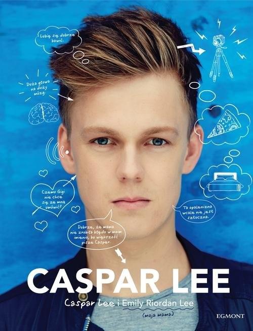 okładka Caspar Lee, Książka | Caspar Lee, Emily Riordan Lee