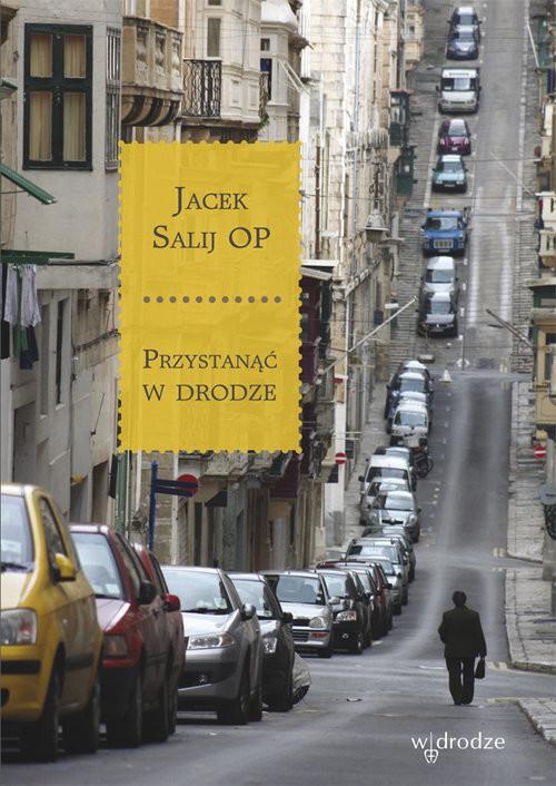 okładka Przystanąć w drodze, Książka | Salij Jacek