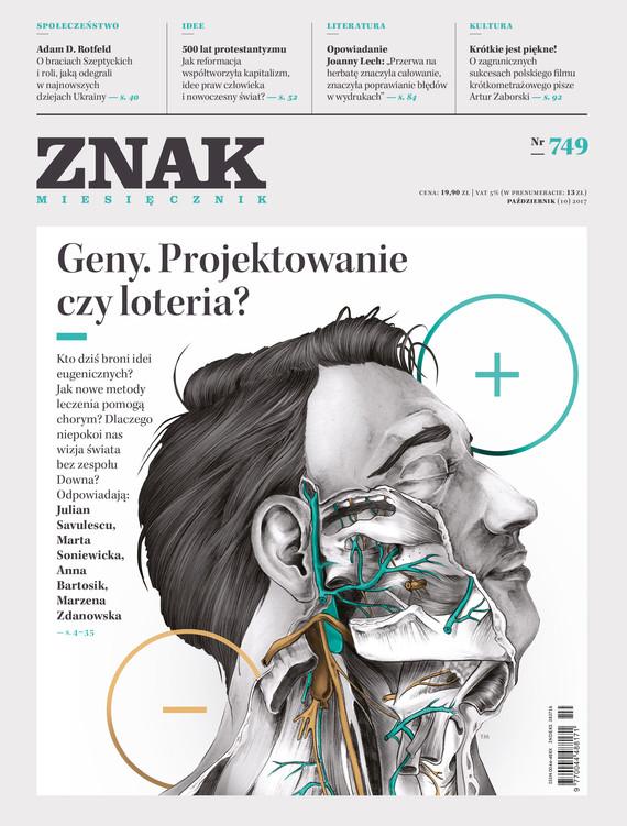 okładka ZNAK 749 10/2017, Książka |