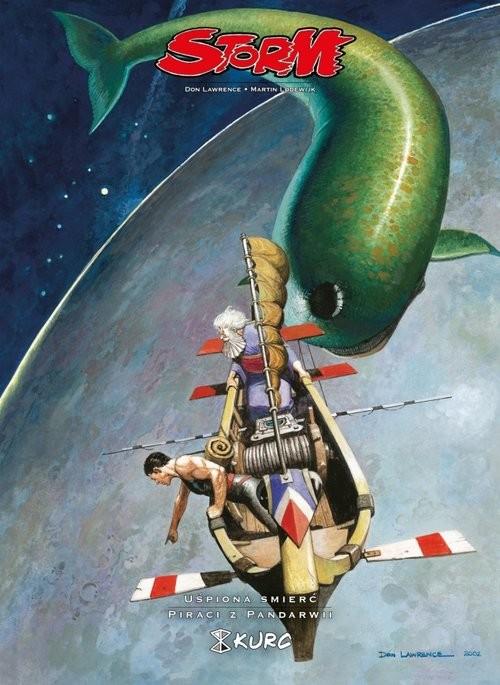 okładka Storm 5 Uśpiona śmierć Piraci z Pandarwii, Książka | Don Lawrence, Martin Lodewijk