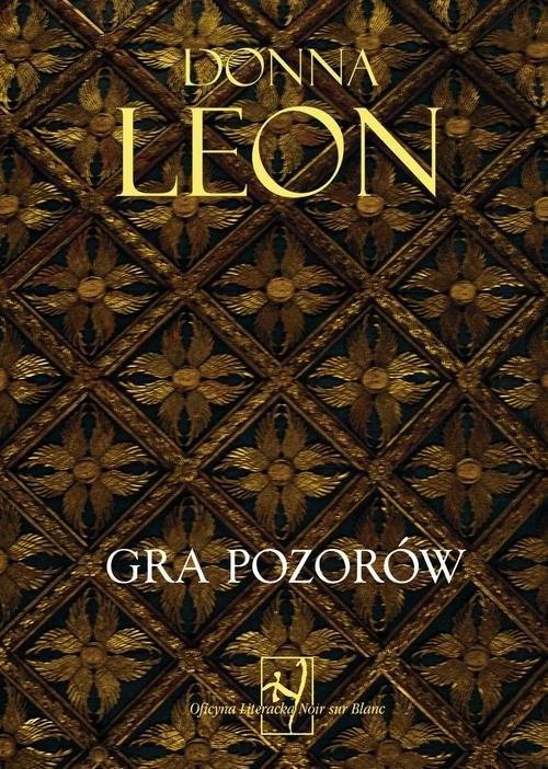 okładka Gra pozorów, Książka | Donna Leon