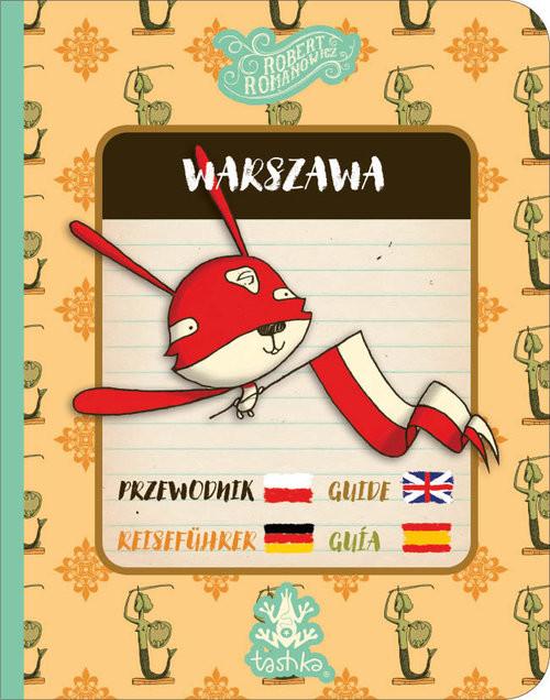 okładka Przewodnik Warszawa, Książka   Romanowicz Robert
