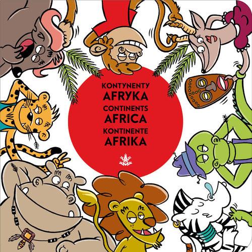 okładka Kontynenty Afryka, Książka | Nowacki Piotr