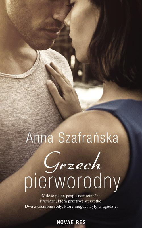 okładka Grzech pierworodny, Książka | Anna Szafrańska