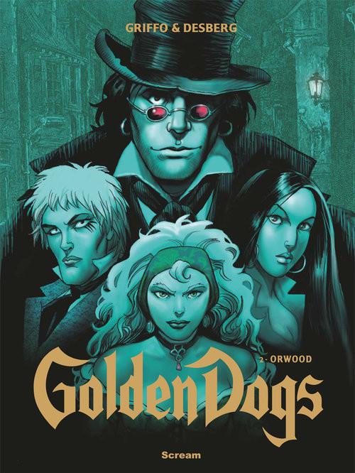 okładka Golden Dogs Tom 2 Orwood, Książka |