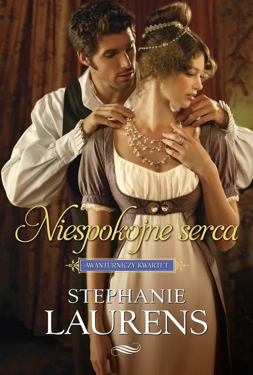 okładka Niespokojne serca, Książka | Laurens Stephanie