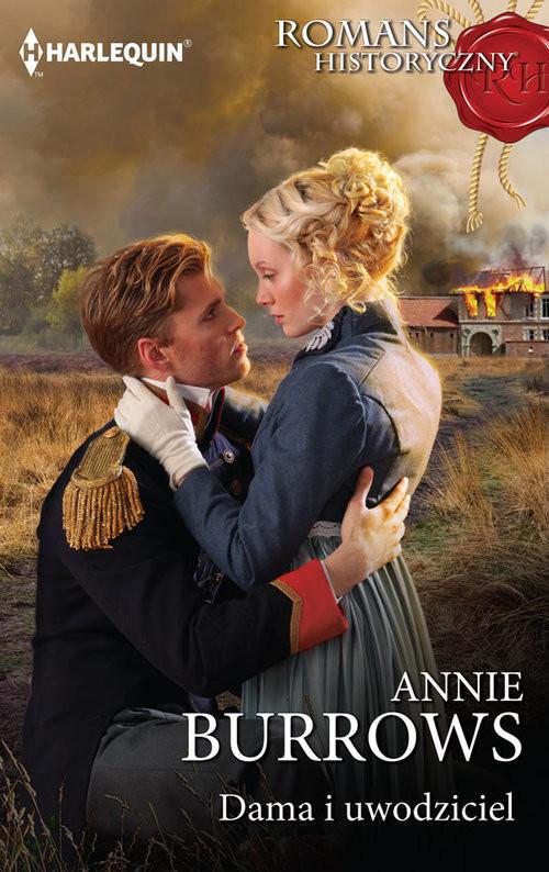 okładka Dama i uwodziciel, Książka | Annie Burrows