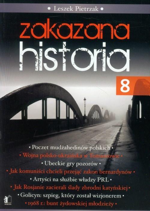 okładka Zakazana historia 8, Książka | Leszek  Pietrzak