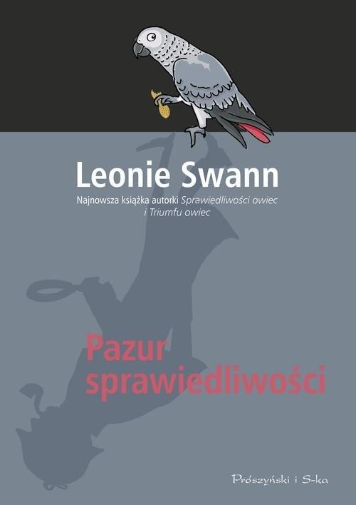 okładka Pazur sprawiedliwości, Książka   Swann Leonie