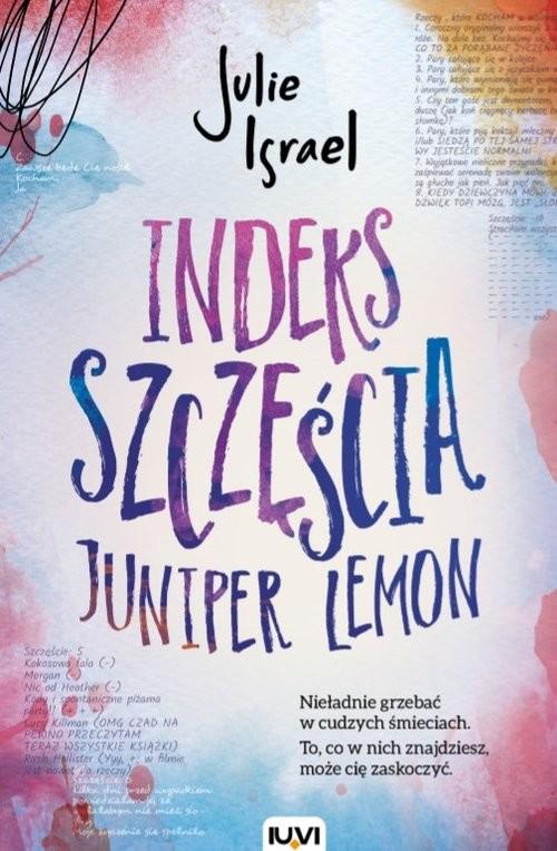 okładka Indeks szczęścia Juniper Lemon, Książka | Israel Julie