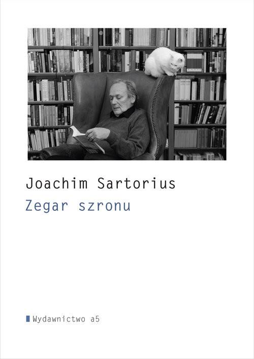 okładka Zegar szronu i inne wiersze, Książka | Sartorius Joachim