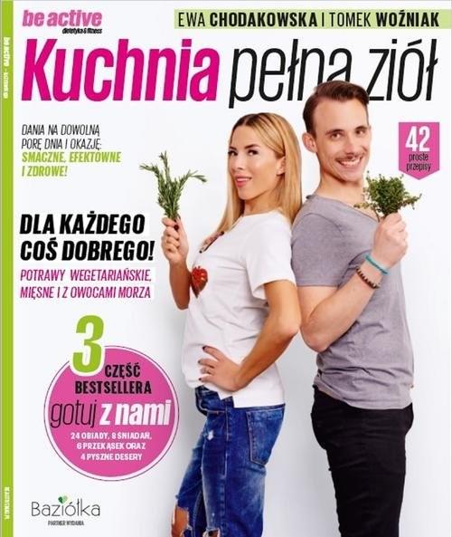 okładka Kuchnia pełna ziół, Książka   Ewa Chodakowska, Tomek Woźniak