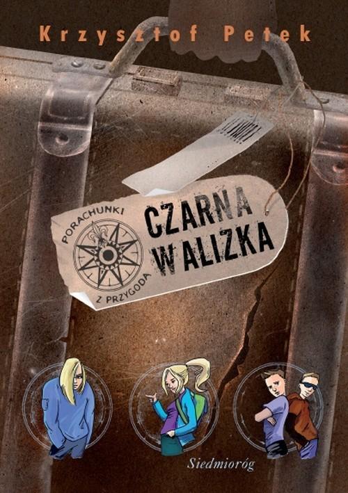 okładka Czarna walizka, Książka | Krzysztof Petek