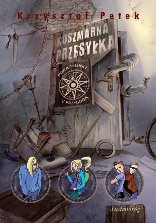 okładka Koszmarna przesyłka, Książka | Krzysztof Petek