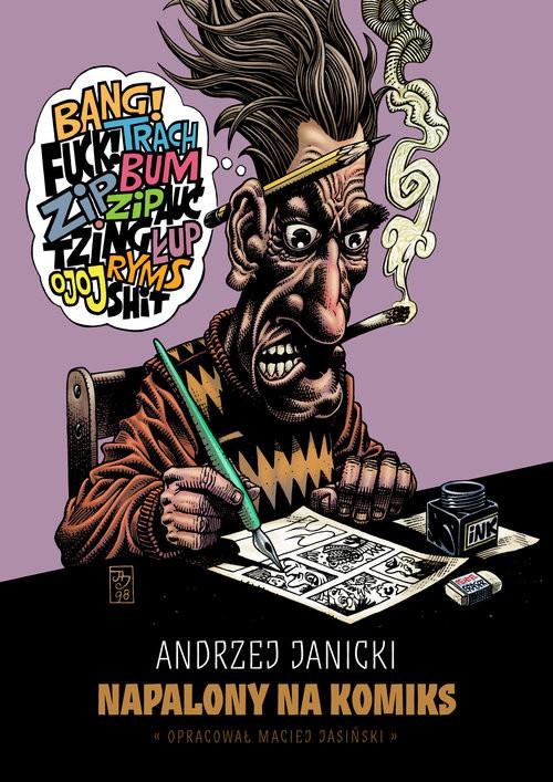 okładka Napalony na komiks, Książka | Janicki Andrzej