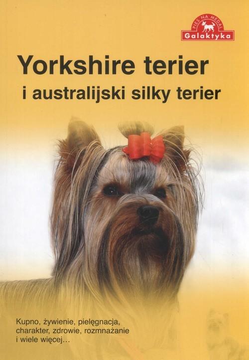 okładka Yorkshire terier i australijski silky terier, Książka  