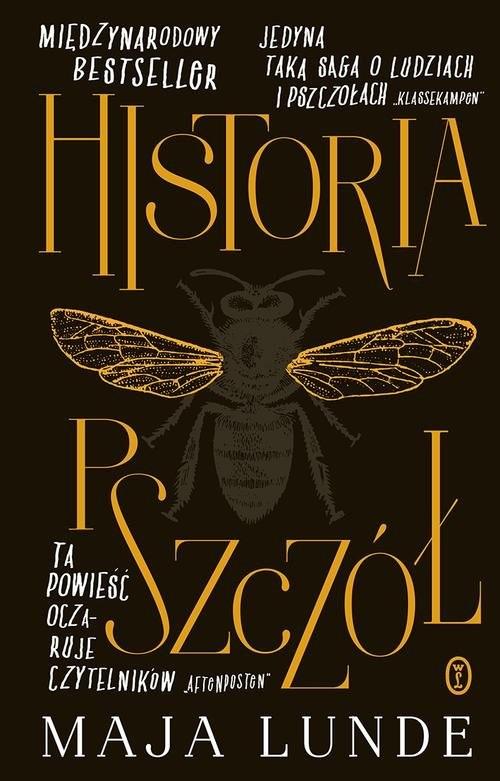 okładka Historia pszczół, Książka | Lunde Maja