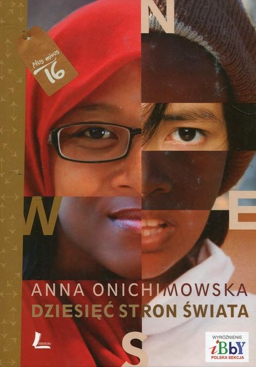 okładka Dziesięć stron świata, Książka | Onichimowska Anna