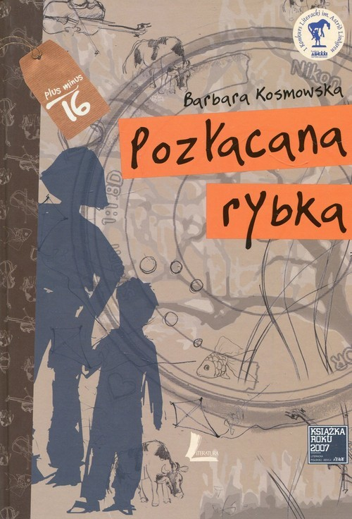 okładka Pozłacana rybka, Książka | Barbara Kosmowska