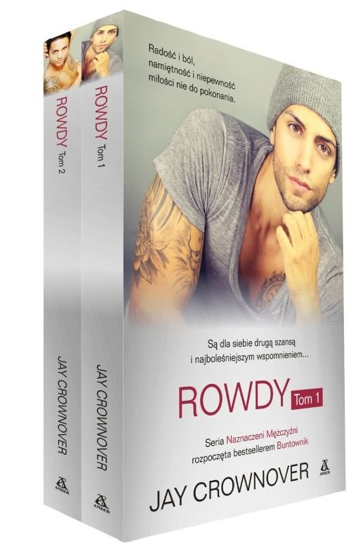 okładka Rowdy Tom 1 i 2, Książka | Crownover Jay